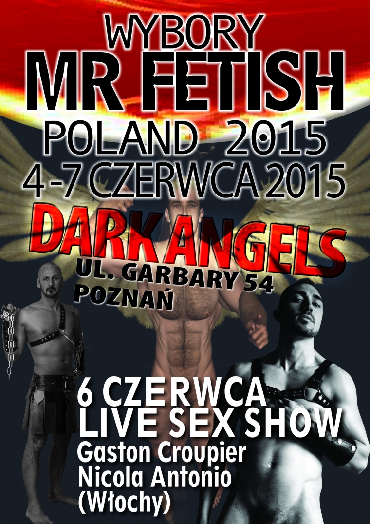 Wybory Mr Fetish Poland 2015